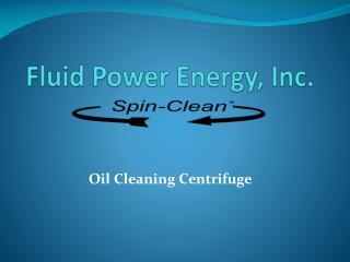 Fluid Power Energy, Inc .