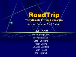 RoadTrip The Ultimate Driving Companion