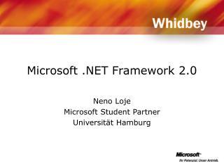 Microsoft  Framework 2.0