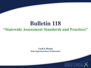 Bulletin 118