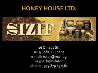 HONEY HOUSE LTD.