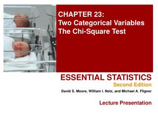 CHAPTER 23: Two Categorical Variables The Chi-Square Test