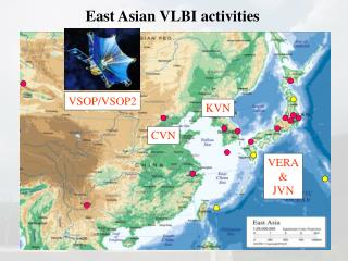 East Asian VLBI activities