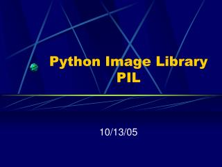 Python Image Library PIL