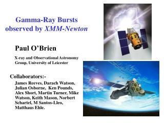 Gamma-Ray Bursts observed by  XMM-Newton