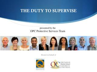 THE DUTY TO SUPERVISE