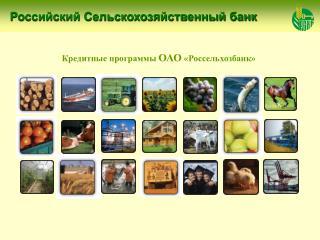 Российский Сельскохозяйственный банк