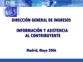 Aspectos Generales Situación Actual del Servicio al Contribuyente