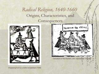 Radical Religion, 1640-1660