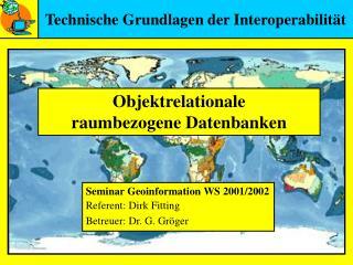 Technische Grundlagen der Interoperabilit t