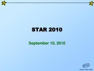 STAR 2010