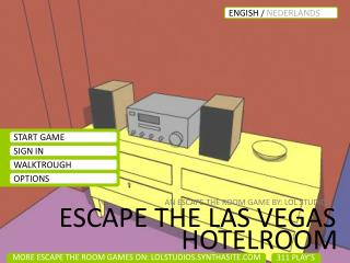 ESCAPE THE LAS VEGAS