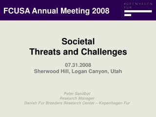 FCUSA Annual Meeting 2008