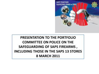 CONTROL MEASURES IN PLACE IN THE SAPS  (REGULATORY FRAMEWORK)