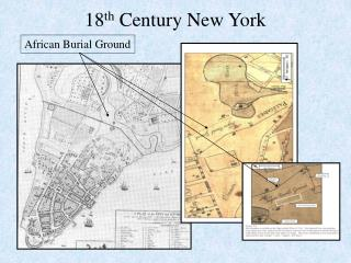 18 th  Century New York