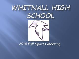 Whitnall High School