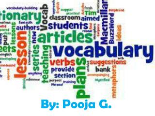 By: Pooja G.