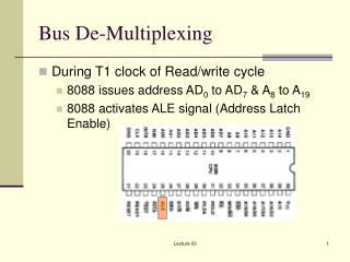 Bus De-Multiplexing
