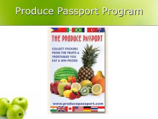 Produce Passport Program
