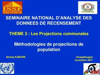 Idrissa KABORE Ouagadougou             novembre 2011