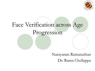 Face Verification across Age Progression