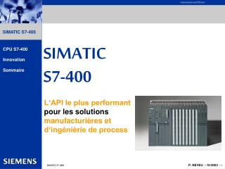 SIMATIC S7-400