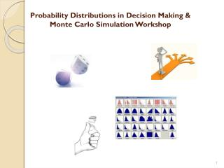 Probability Distributions in Decision Making & Monte Carlo Simulation Workshop