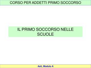 Asti, Modulo A