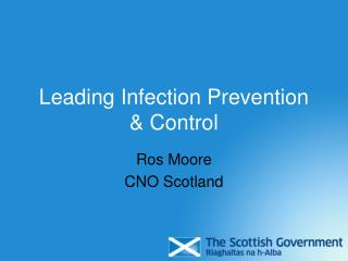 Leading Infection Prevention  Control