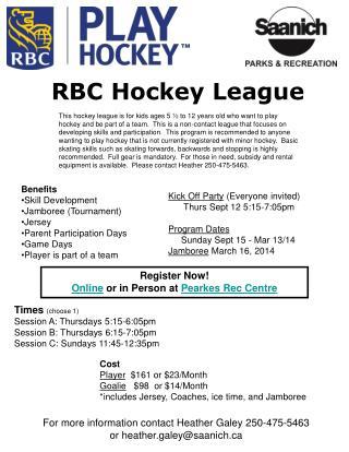 RBC Hockey League
