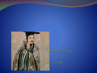 Xia,Shang,Zhou Lamb