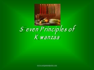 Kwanzaa ppt