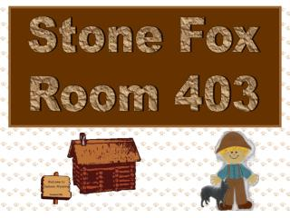 Stone Fox Room 403