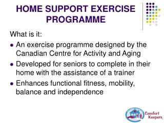 HOME SUPPORT EXERCISE PROGRAMME