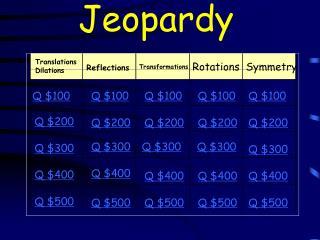 J eopardy