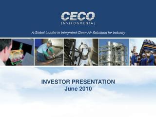 INVESTOR PRESENTATION June 2010