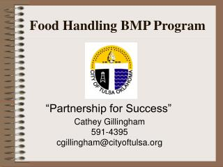 Food Handling BMP Program