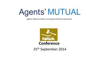 Agents' Mutual Limited. A Company limited by Guarantee.