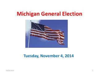 Michigan General Election