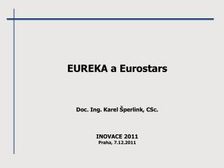 EUREKA a Eurostars
