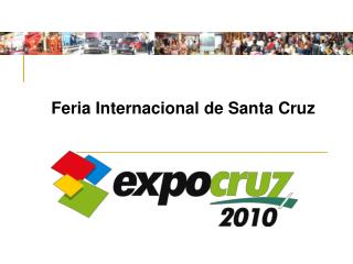 Feria Internacional de Santa Cruz