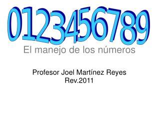 El manejo de los números