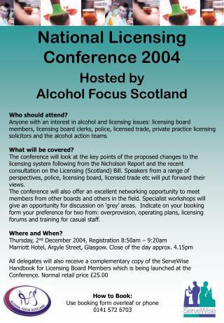 National Licensing  Conference 2004