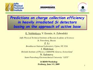 Predictions on charge collection efficiency in heavily irradiated Si detectors