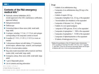 Graf, J; St�ben, U; Pump, S In-Flight Medical  Emergencies