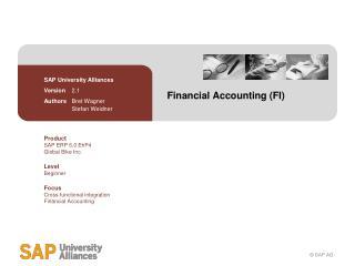 Financial Accounting (FI)