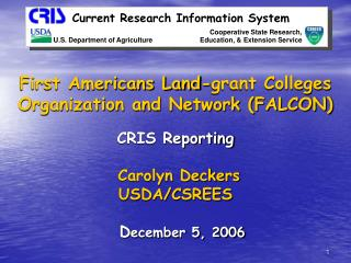 Current Research Information System
