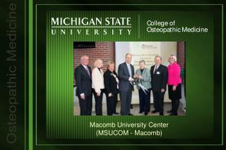Macomb University Center (MSUCOM - Macomb)