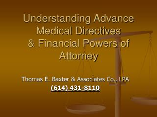 Understanding Advance Medical Directives & Financial Powers of Attorney