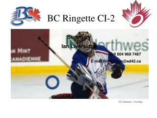 BC Ringette CI-2